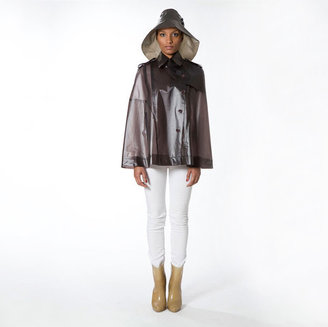 Nolita Terra New York Military Cape Chocolate