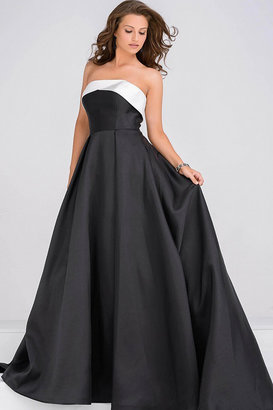 Jovani Simple A line Prom Ballgown JVN35400