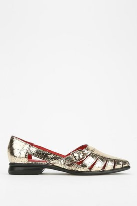 Jeffrey Campbell Caesar Double-Cutout Loafer