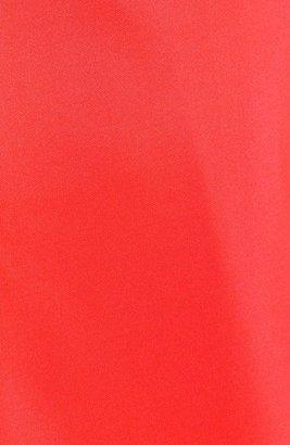 Jessica Simpson Cutout Back Scuba Sheath Dress