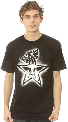 Obey The Star Crown Stencil Tee