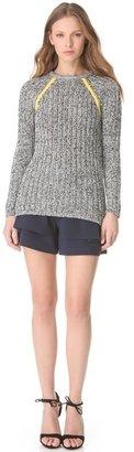 Yigal Azrouel Chunky Crew Sweater