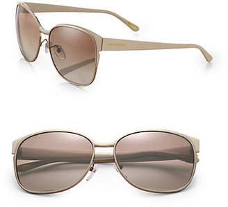 Givenchy Metal Oversized Round Sunglasses