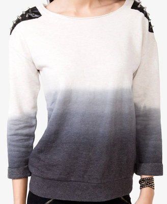 Forever 21 Spiked Ombré Pullover