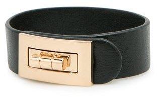 Violeta BY MANGO Faux Leather Bracelet