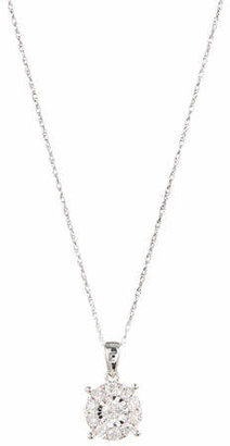 Effy 14K White Gold Pendant Necklace with 0.98CTW Diamonds