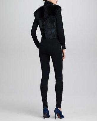 Ralph Lauren Wool Long-Sleeve Turtleneck, Black