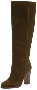Pour La Victoire Reese Suede Knee Boot, Army