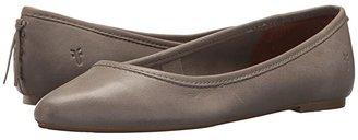 Frye Regina Ballet (Ash) Women's Slip on Shoes
