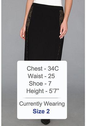 Calvin Klein Gold Accent Suit Skirt