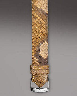 Philip Stein Teslar Golden Snake Strap, 18mm