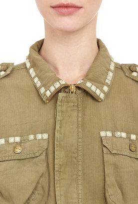 Current/Elliott Lone Soldier Army Jacket - SPRING ARMY