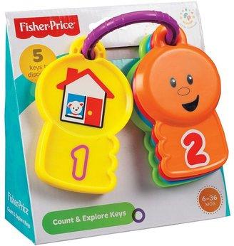 Fisher-Price count & explore keys