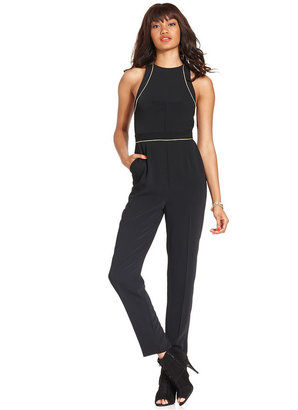 Rachel Roy Jumpsuit, Sleeveless Cutout Straight-Leg