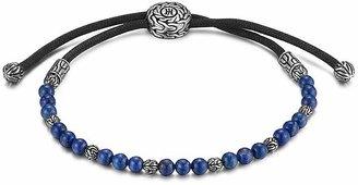 John Hardy Men's Sterling Silver Classic Chain Beaded Bracelet with Lapis Lazuli