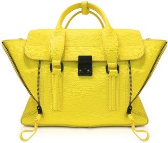 3.1 Phillip Lim Electric Yellow Pashli Medium Satchel