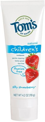 Tom's of Maine Fluoride Free Children's Toothpaste - 4.2 oz - Silly Strawberry