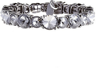 Natasha Accessories Crystal Bangle Bracelet