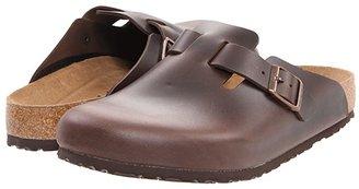 Birkenstock Boston Soft Footbed (Unisex) (Night Suede) Clog Shoes