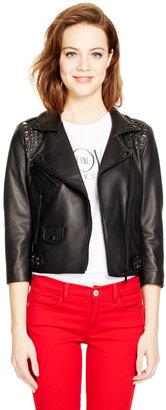 Rebecca Minkoff Embellished Wes Moto Jacket