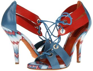 Missoni VM021 (Blue/Red) - Footwear