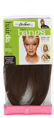 Hairdo. by Jessica Simpson & Ken Paves Clip-In Bang (Ginger Brown) - Accessories