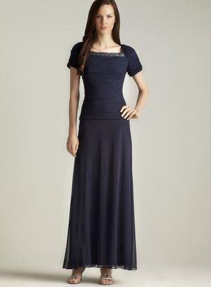 Patra Ribbed Top Beaded Neck Dress