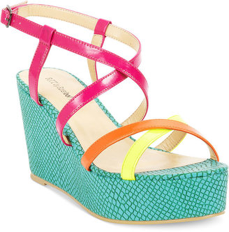 Barefoot Tess Shoes, Cozumel Platform Wedge Sandals