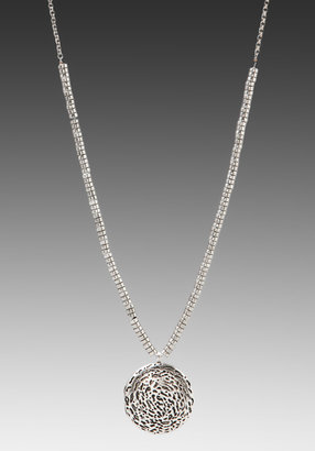 Low Luv x Erin Wasson Lava Textured Locket Necklace
