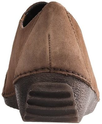 The Flexx Quarter Back Shoes - Suede (For Women)