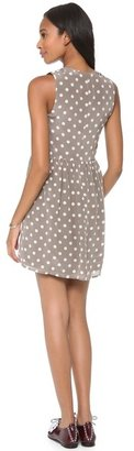 Madewell Dotted Alpine Tank Dress