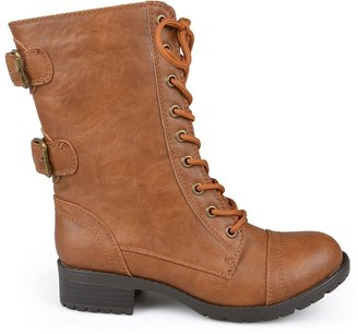 Journee Collection holly combat boots - women