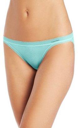 Calvin Klein Womens Icon String Bikini Panty
