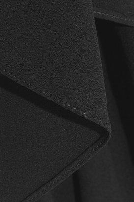 Michael Kors Draped silk-georgette top