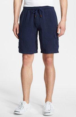 Men's Vilebrequin Linen Bermuda Cargo Shorts $230 thestylecure.com