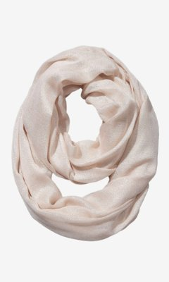 Express Shimmering Infinity Scarf