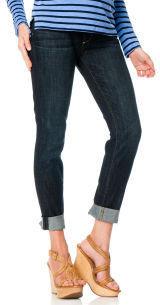 A Pea in the Pod Paige Premium Denim Secret Fit Belly. 5 Pocket Slim Leg Maternity Jeans