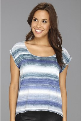 Calvin Klein Jeans Horizon Stripe Top (Biro Blue) - Apparel
