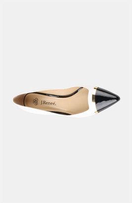 J. Renee 'Adena' Pump White/ Black 7.5 N