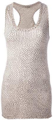 Humanoid polka dot tank top