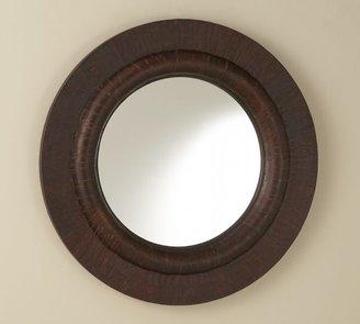 Pottery Barn Bark-Wrapped Mirror