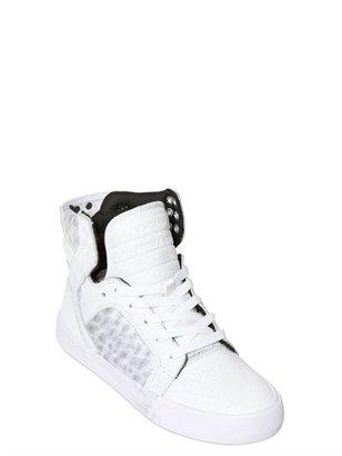 Supra Skytop Leather High Top Sneaker