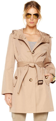 MICHAEL Michael Kors Single-Breasted Trench