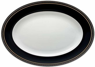 Vera Wang Wedgwood With Love Noir Oval Platter