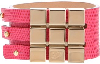 DSquared DSQUARED2 cubed leather cuff