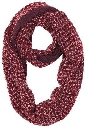 LOFT Lurex Open Stitch Infinity Scarf