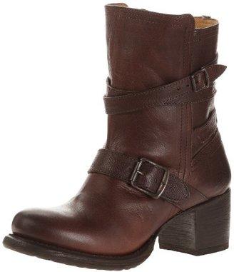 Frye Women's Vera Strappy Ankle Boot,Dark Brown,8.5 M US