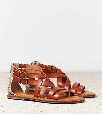 American Eagle AEO Double Strap Gladiator Sandal
