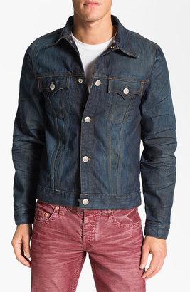 True Religion Brand Jeans '1971 Jimmy Western Trucker' Denim Jacket
