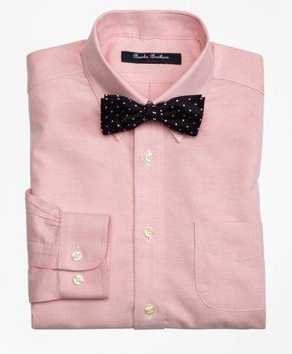 Brooks Brothers Boys Non-Iron Supima Oxford Polo Button-Down Dress Shirt